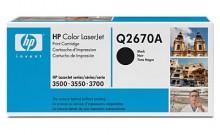 HP Q2670A № 308A картридж лазерный оригинальный черный, 6000 страниц для принтер hp color laserjet 3500, 3550, 3700