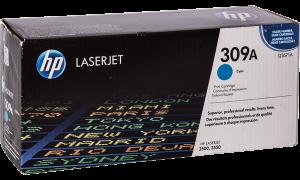 HP Q2671A № 309A картридж лазерный оригинальный голубой, 4000 страниц для принтер hp color laserjet 3500, 3550, 3700