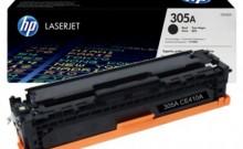 HP CE411A № 305A картридж лазерный оригинальный черный, 2200 страниц  для HP LaserJet PRO 300 Color M351, PRO 400 Color M451, MFP M475