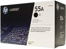 HP CE255A № 55A картридж лазерный оригинальный черный, 6000 страниц для принтер hp laserjet p3010, p3010d, p3015, p3015d, p3015dn, p3015n, p3015x