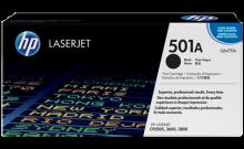 HP Q6470A № 501A картридж лазерный оригинальный черный, 6000 страниц для принтер hp color laserjet cp3505, cp3600, cp3800