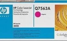HP Q7563A № 314A картридж лазерный оригинальный пурпурный, 3500 страниц для принтер hp color laserjet 2700, 3000