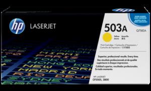 HP Q7582A № 503A картридж лазерный оригинальный желтый, 6000 страниц для принтер hp color laserjet 3800, 3800c, 3800dn, 3800dtn, 3800n, p3505, cp3505dn, cp3505n, cp3505x