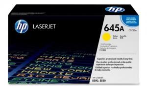HP C9732A № 645A картридж лазерный оригинальный желтый, 12000 страниц для принтер hp color laserjet 5500, 5500dn, 5500dtn, 5500hdn, 5500n, 5500tdn, 5550, 5550dn, 5550dtn, 5550hdn, 5550n