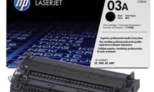 картридж C3903A (03A) для HP 5P/ 6P/ 5MP/ 6MP