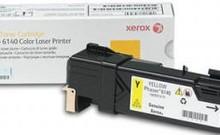 картридж 106R01483 Yellow для XEROX Phaser 6140