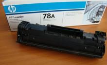 Заправка картриджа ce278a для lj pro1566 p1606dn m1536