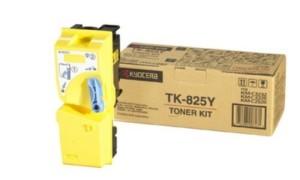 Kyocera TK-825Y картридж лазерный оригинальный желтый, 7000 страниц для мфу kyocera km-c2520, km-c2525, km-c2525e, km-c3225, km-c3225e, km-c3232, km-c3232e, km-c4035, km-c4035e