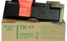 Kyocera TK-17 картридж лазерный оригинальный черный, 6000 страниц для принтер kyocera fs-1000\ fs-1000n\ fs-1010\ fs-1010n\ fs-1010t\ fs-1010tn\ fs-1050\fs-1050n \fs-1050t\ fs-1050tn