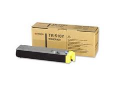 Kyocera TK-510Y картридж лазерный оригинальный желтый, 8000 страниц для принтер kyocera fs-c5020, fs-c5020n, fs-c5025, fs-c5025n, fs-c5030, fs-c5030n