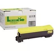 Kyocera TK-570Y картридж лазерный оригинальный желтый, 12000 страниц для принтер kyocera fs-c5400, fs-c5400dn