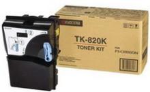 Картридж лазерный оригинальный черный, 15000 страниц Kyocera TK-820K для мфу kyocera km-c8100, km-c8100dn