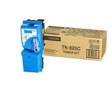 Картридж лазерный оригинальный голубой, 7000 страниц Kyocera TK-825C для мфу kyocera km-c2520, km-c2525, km-c2525e, km-c3225, km-c3225e, km-c3232, km-c3232e, km-c4035, km-c4035e
