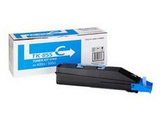 Kyocera TK-855C картридж лазерный оригинальный голубой, 18000 страниц для мфу kyocera taskalfa 400, 400ci, 500, 500ci