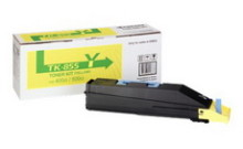 Картридж лазерный оригинальный желтый, 18000 страниц Kyocera TK-855Y для мфу kyocera taskalfa 400, 400ci, 500, 500ci