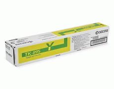 Kyocera TK-895Y картридж лазерный оригинальный желтый, 6000 страниц, для Kyocera Mita FS-C8020MFP, FS-C8025, FS-C8025MFP ,FS-C8520MFP, FS-C8525, FS-C8525MFP