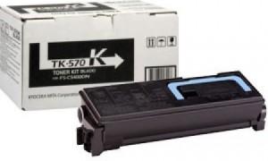 Kyocera TK-570K картридж лазерный оригинальный черный, 10000 страниц для принтер kyocera fs-c5400, fs-c5400dn