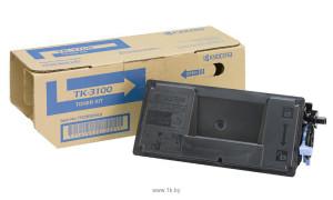 Kyocera TK-3100 картридж лазерный оригинальный черный, 12500 страниц для Kyocera FS-2100 \FS-2100D \FS-2100DN \M3040 \M3040DN \ M3540 \ M3540DN
