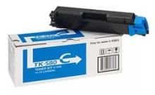 Kyocera TK-580C картридж лазерный оригинальный голубой, 2800 страниц  для Kyocera ECOSYS FS-C5150, FS-C5150DN, P6021, P6021CDN