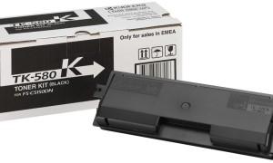 Kyocera TK-580K картридж лазерный оригинальный черный, 3500 страниц  для Kyocera ECOSYS FS-C5150, FS-C5150DN, P6021, P6021CDN