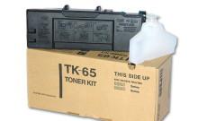 Kyocera TK-65 картридж лазерный оригинальный черный, 20000 страниц для принтер kyocera fs-3820, fs-3820dn, fs-3820n, fs-3830, fs-3830dn, fs-3830dtn, fs-3830n, fs-3830tn, fs-3830zn