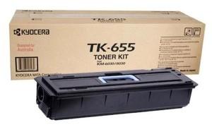 Картридж лазерный оригинальный Kyocera TK-655, 47000 страниц для мфу kyocera km-6030, km-6030p, km-6030r, km-8030, km-8030p, km-8030r