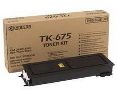 Картридж лазерный оригинальный Kyocera TK-675, 20000 страниц для мфу kyocera km-2540, km-2560, km-3040, km-3060