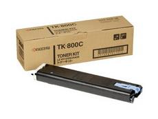 Картридж лазерный оригинальный голубой Kyocera TK-800C, 10000 страниц  для принтер kyocera fs-c8008, fs-c8008n