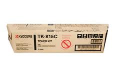 Картридж лазерный оригинальный голубой, 20000 страниц Kyocera TK-815C для мфу kyocera km-c2630, km-c2630d